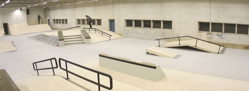 Real-X indoor skatepark