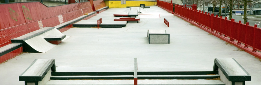 Skatepark Schieplaza Schiedam